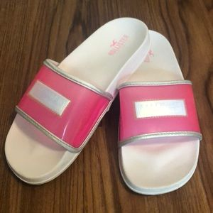 Jelly Pink Slides